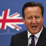 EU support ban on aid to immigrants, British Prime Minister