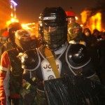 Anti-government protests in Ukraine, killing 21 people, including police officers