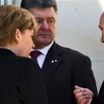 President of Ukraine Petro Poroshenko 15 January, Russian President, German Chancellor and French President will meet