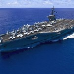 USS Navy aircraft carrier Carl Vinson