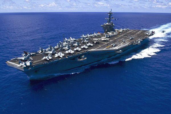 USS Navy aircraft carrier Carl Vinson