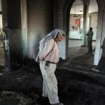 A group of Jews in the town of al-Jaba set fire to the Al-Huda Mosque