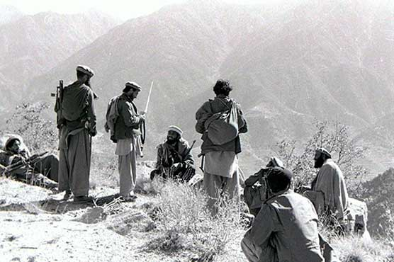 February 15, 1989 when Afghan citizens were looking at the soldiers of former Soviet Union, who became a picture of fear and surprise