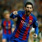 Argentine footballer Lionel Messi
