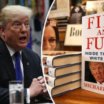 "Michael Wolff's fascinating book ""Fire and Fury"""