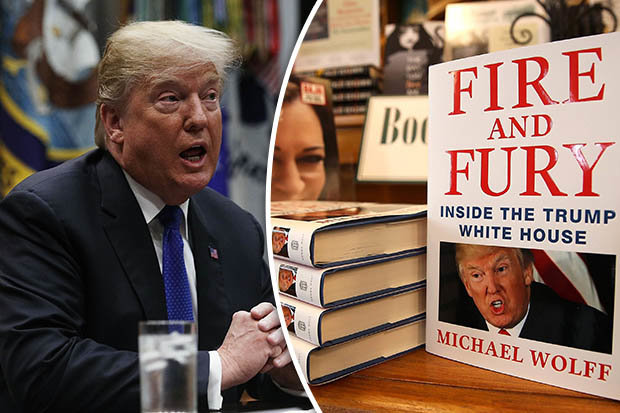 """Michael Wolff's fascinating book """"Fire and Fury"""""""