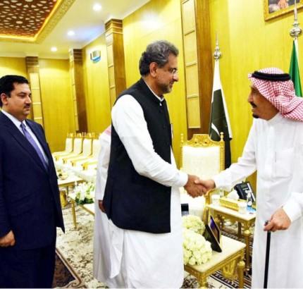 Prime Minister Shahid Khaqan Abbasi has failed to get Saudi support for Nawaz Sharif