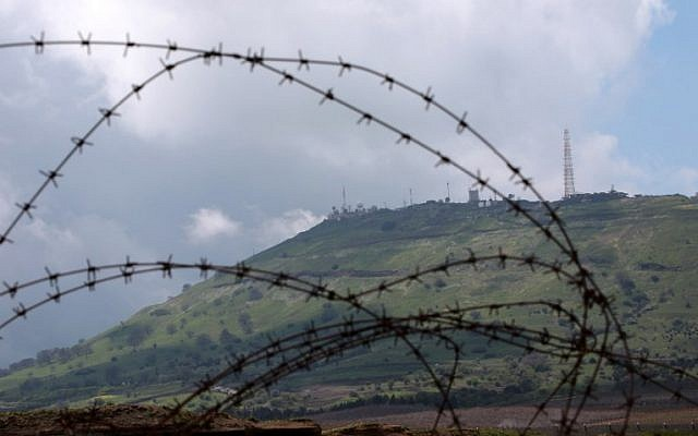 The United States Security Council meeting criticized other countries because of the US decision to recognize Israel's execution on Golan Heights.