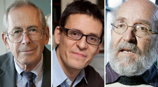 Among the winners of the Nobel Prize for Physics are James Peebles, an 84-year-old Canadian-American scientist and 77-year-old Michael Mayor and 53-year-old Didier Queloz, two scientists from Switzerland.
