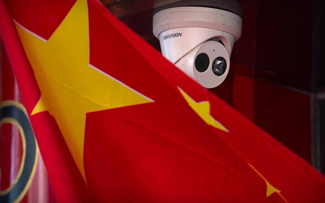 Chinese companies that have banned the US include surveillance equipment maker Hikvision, artificial intelligence companies Megvii Technology and Sense Time