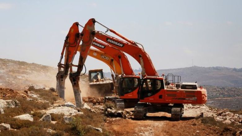 The initial work has begun on the residents of Amona area who promised to settle a new town