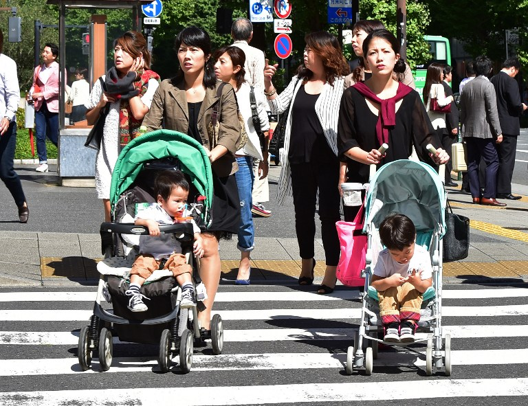 Low rates of birth, Population down nearly 1-million in Japan