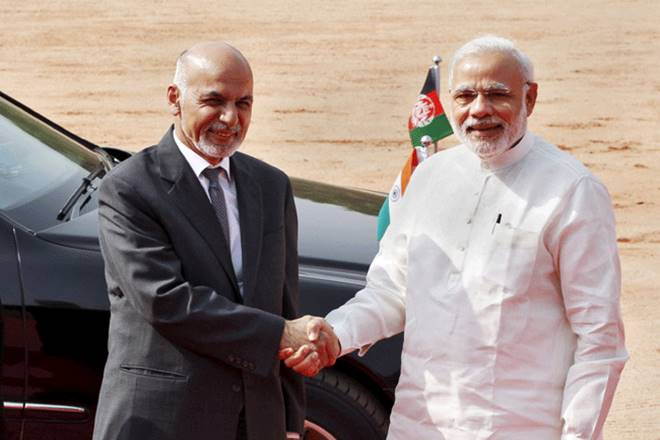 Indian Prime Minister Narendra Modi, Afghan President Ashraf Ghani decided to establish an air freight corridor for the promotion of trade between the two countries.