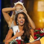The 23-year-old Cara Mund to win the Miss America title