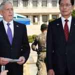 American Defense Minister James Mattis and South Korean Defense Song Young-Moo