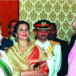 For the first time on February 1, 1961, Queen Elizabeth II accompanied her husband Prince Philip the Duke of Edinburgh on a 16-day visit to Pakistan.