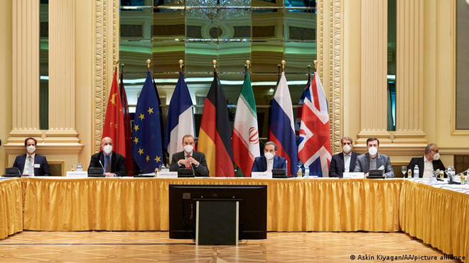 EU-brokered talks begin to back US withdrawal from global nuclear deal and lift economic sanctions on Iran