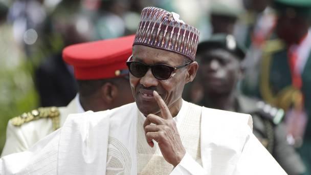 Behold the President of Nigeria Muhammadu Buhari