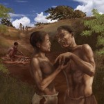 70,000 years old human displacement indicators in Africa