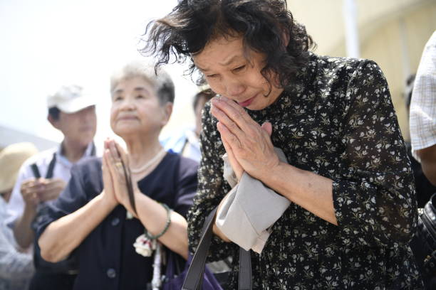 73rd anniversary of atomic bomb attacks on Nagasaki