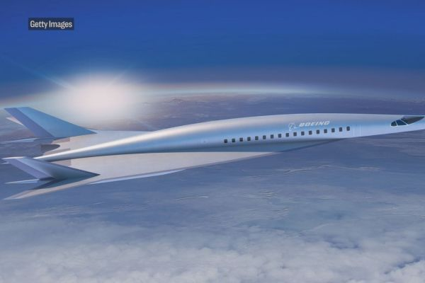 The plan of hypersonic plane could fly as fast just under 3,900 miles per hour