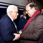 President Pakistan Mamnoon Hussain warmly Receives Mahmood Abbas Noor Khan Airbase