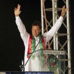 Tehreek-e-Insaf chairman Imran Khan