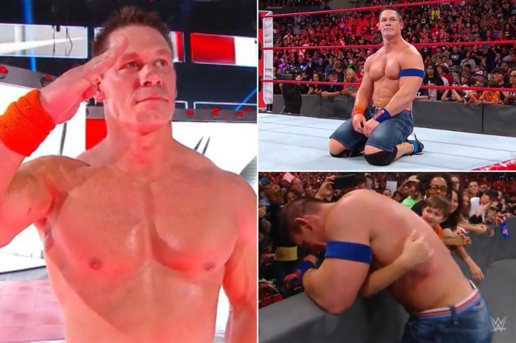 The world's most popular Wrestler John Cena