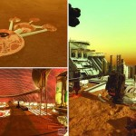 Preparations for making a small Mars city for training of people who want to accommodate a large area of land on the Red Planet in UAE