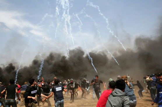 Since March 30, 39 Palestinians were killed and 5511 were injured