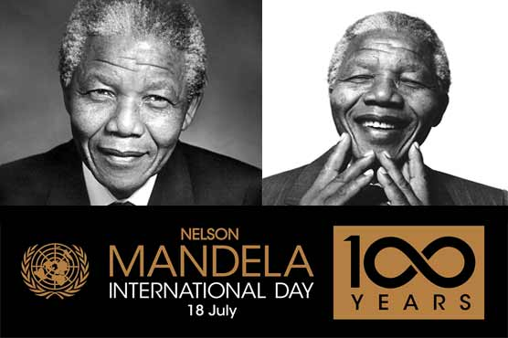The world's first democratic black president, Nelson Mandela, is celebrating the World Day on 18 July today.