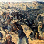 One million Egyptians participated in the excavation of the canal, in which 100,000 workers died in various accidents.