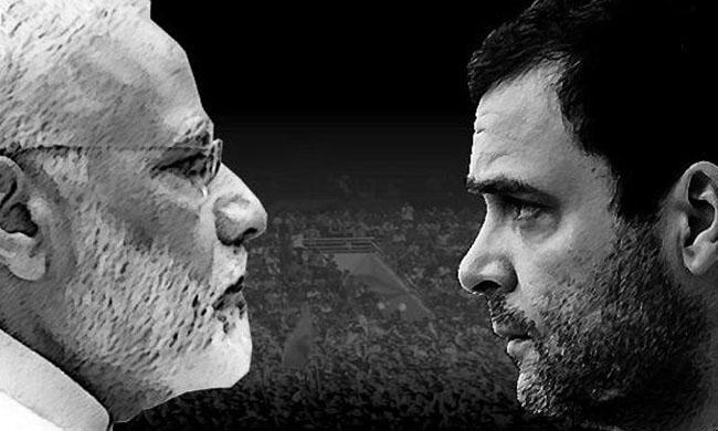 Narendra Modi and Rahul Gandhi will compete for next Prime Minister File photo: