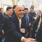 The list includes Afghan President Ashraf Ghani, Chief of Staff Abdul Salam Rahimi and former Afghan intelligence chief, including election leader Amrullah Saleh.