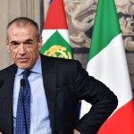 Expert Economist Carlo Cottarelli nomination Caretaker as caretaker Prime Minister