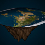 If the earth was flat, gravity at the surface of the ground was the highest in the center