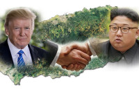 US President Donald Trump expressed his keen desire to meet North Korea President Kim Jang