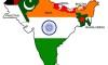 インドの右の地域における米国の電力収支