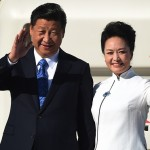 Chinese president, Xi Jinping, and first lady, Peng Liyuan
