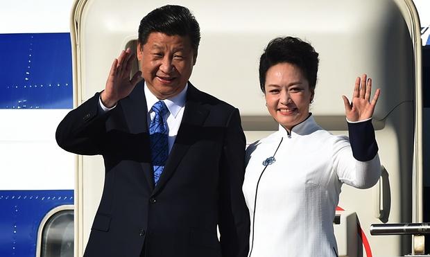 Chinese president, Xi Jinping, and first lady, Peng Liyuan