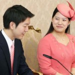Japan's princess Ayako and Moriya Keio