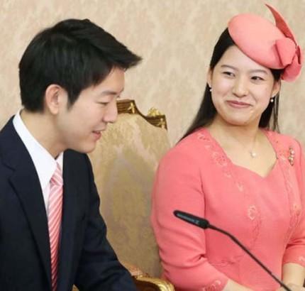 Japan's princess Ayako and Moriya Keio