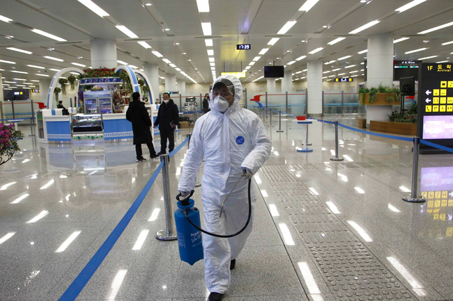 A government employee returning from China in North Korea was shot dead on suspicion of Coronavirus