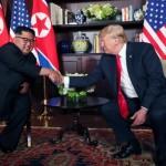 US President Trump and North Korea leader Kim Jong Un