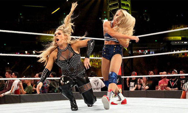 Lacey Evans and Natalia Niederth have fights multiple times Photo: WWE