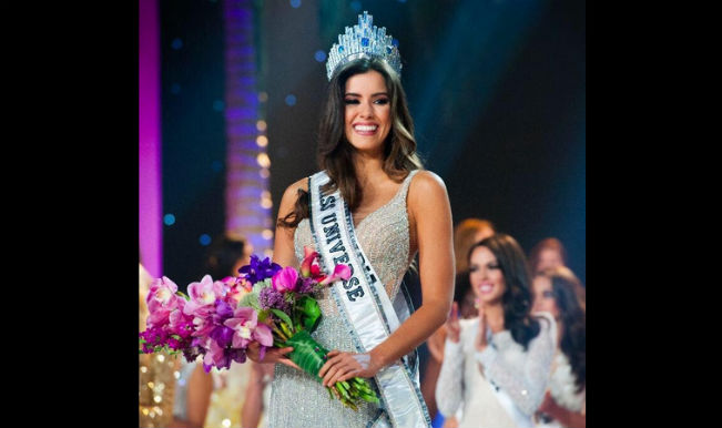 Paulina Vega of Colombia's most beautiful Miss Universe wins award